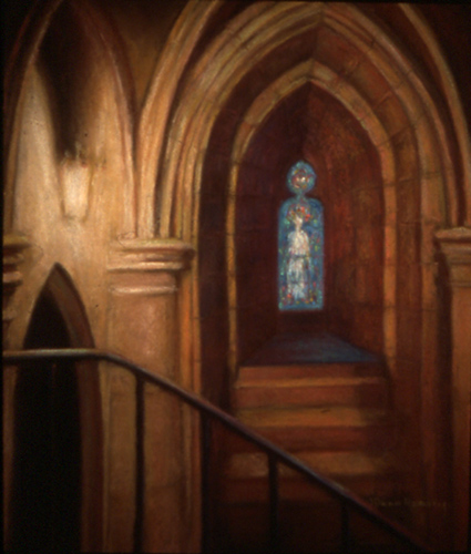 Alcove with Blue Madonna