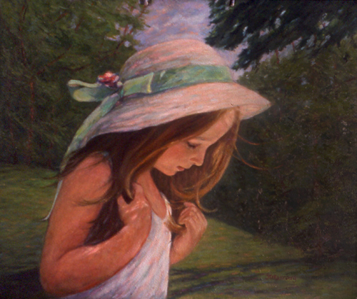 The Easter Hat - Click to go back to Portraits & Other Subjects